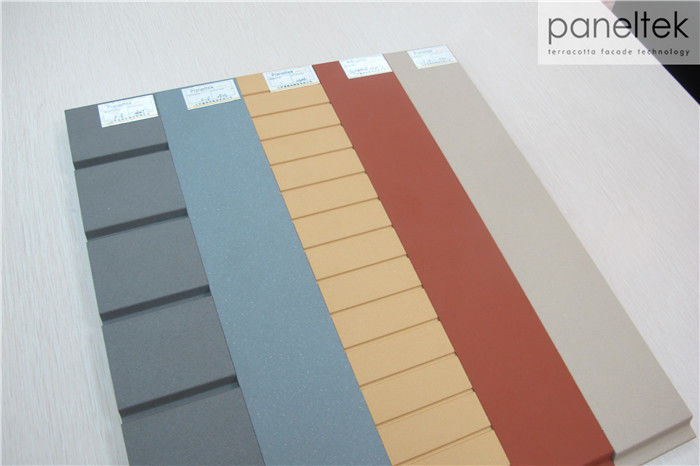 Flexible Soft Grooved Ceramic Tile Cladding Safety With Convenient Fixing System